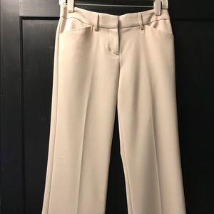Express cream colored dress pants